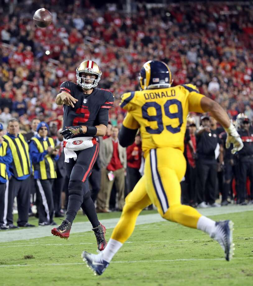 La Rams New Stadium: 49ers' Embattled Hoyer Passes Eye Test In Loss To Rams