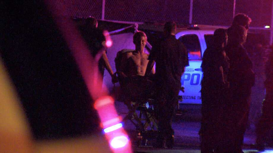 The suspect shot the victim, a man in his 20s, around 1:40 a.m. on Sept. 22, 2017, at an apartment complex in the 5000 block of Fredericksburg Road. Photo: Ken Branca