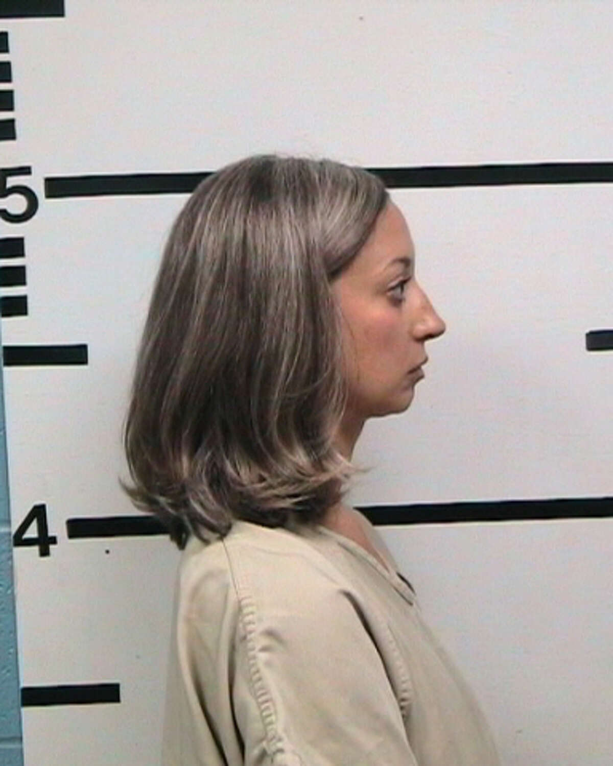 Sara Kathryn D'Spain of Bandera, Texas, now faces one charge of improper relationship between an educator and student. She was booked into the Kerr County Jail on a $35,000 bond and has since bailed out.