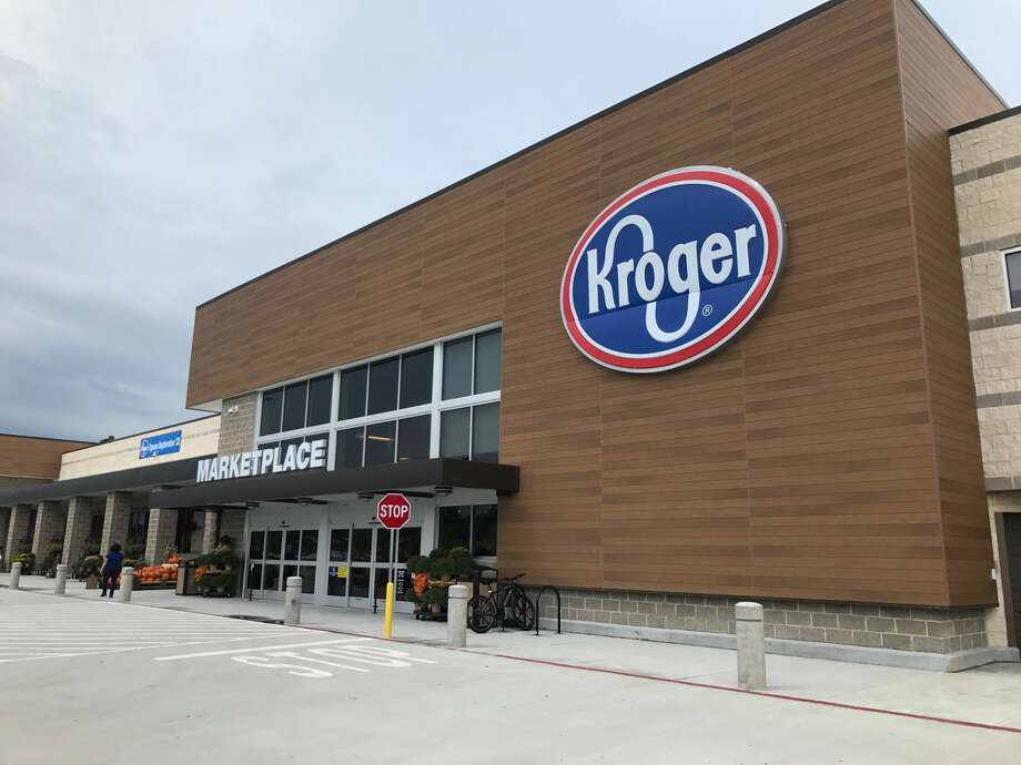 Kroger has opened a sprawling 123,000 square-foot Marketplace in Spring, located at 3731 Riley Fuzzel Road. Photo: Kroger
