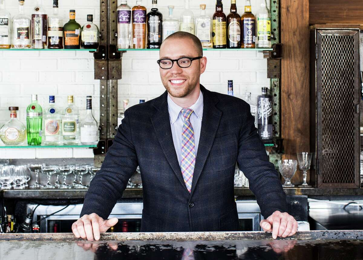 Anvil Bar & Refuge in Houston was listed as No. 80 in the 2017 rankings for the World's 50 Best Bars program (bars 51-100 were named in advance of the 50 Best announcement Oct. 5. Anvil was the only bar in Texas in the ranking. Shown: Anvil Bar & Refuge owner Bobby Heugel.