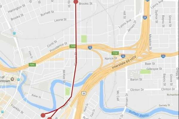 I-10 Katy/East Freeway will close in both directions from 8 p.m. Friday, Sept. 22 through 5 a.m. Monday, Sept. 25.