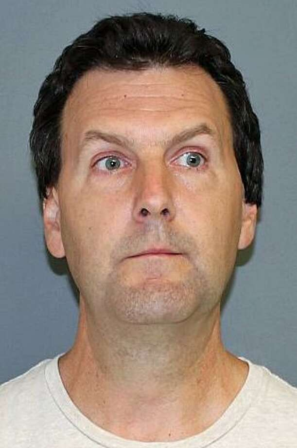 Jeffery Pate, 48, of Tuckahoe Drive in Shelton, was arrested on Thursday, Sept. 21, 2017, for allegedly shooting at landscapers with a pellet gun. Shelton police said Pate was sleeping and was upset that the landscapers were making too much noise. He was charged with unlawful discharge of a firearm, third-degree assault, second-degree reckless endangerment and breach of peace. Photo: Shelton Police Department