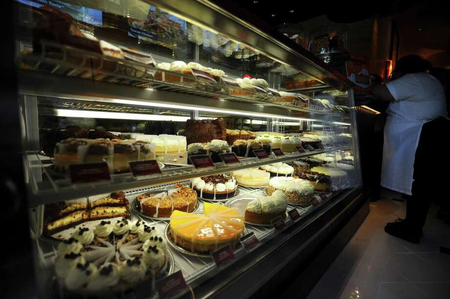 The Cheesecake Factory is giving away 10,000 slices of cheesecake Wednesday, for those ordering delivery. Photo: Michael Cummo / Hearst Connecticut Media / Stamford Advocate