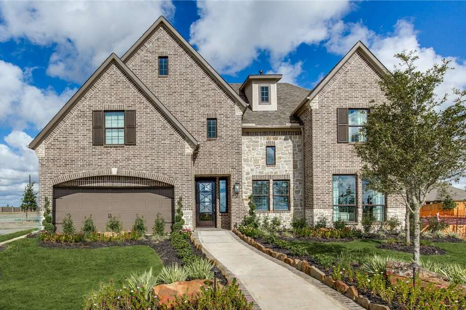 Westin Homes' 4,019-square-foot Carter III B plan includes five bedrooms (with two on the first floor), 4½ baths and a two-car garage with 5 additional feet that can be used for extra storage or a convenient workshop.