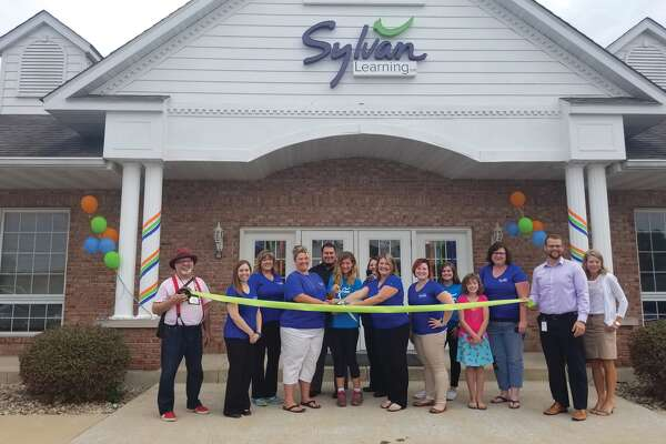 Sylvan Learning Center of Edwardsville, located at 110 Rottingham Court, Suite A, in Edwardsville, conducted a ribbon cutting ceremony on Tuesday. Sylvan will conduct its grand opening celebration from 1 p.m. to 3 p.m. on Saturday with food, activities for children and other prizes.