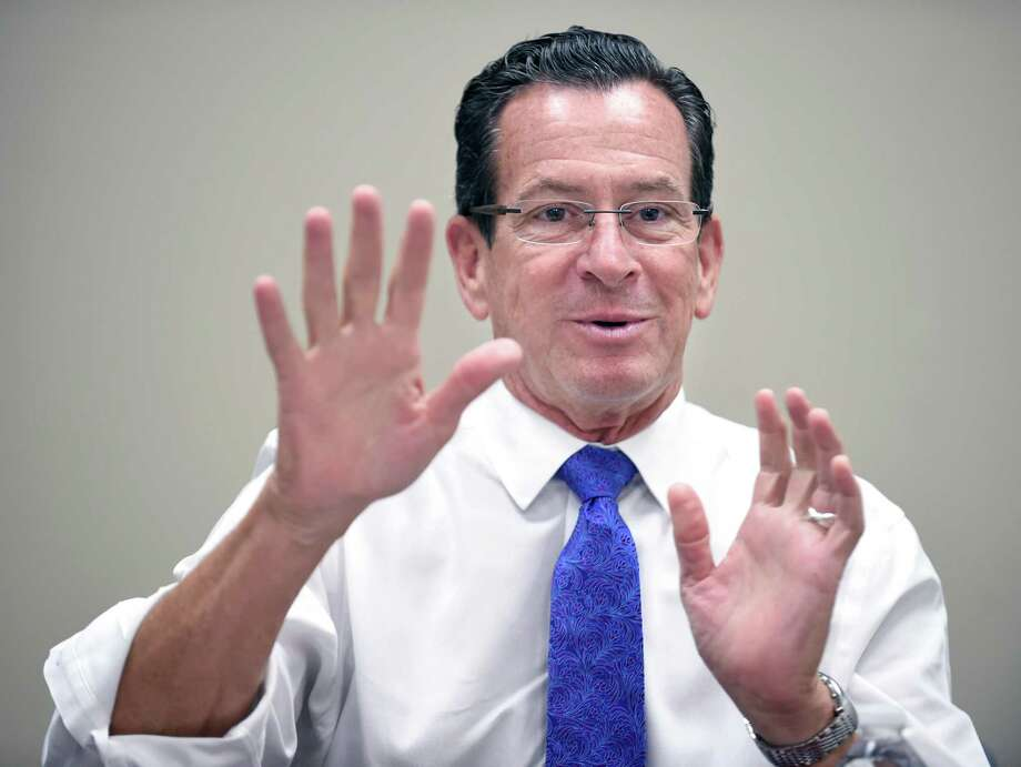 Governor Dannel P. Malloy Photo: Arnold Gold / Hearst Connecticut Media / New Haven Register