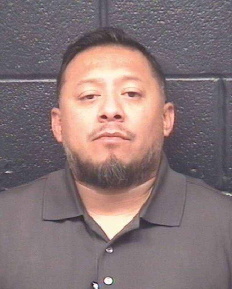 Juan Alejandro Vasquez, 43, was charged with unlawful carrying of a weapon. Photo: Webb County Sheriff's Office