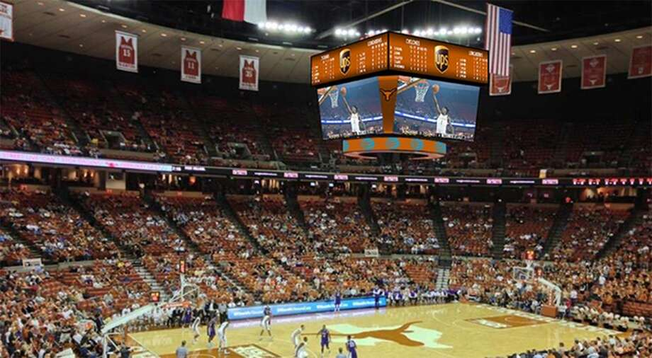 A look at the University of Texas' coming upgrades to the Frank Erwin Center and Cooley Pavillon.  Photo: UT ATHLETICS
