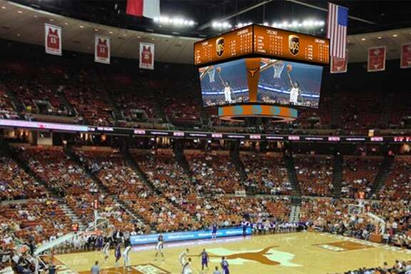 A look at the University of Texas' coming upgrades to the Frank Erwin Center and Cooley Pavillon.
