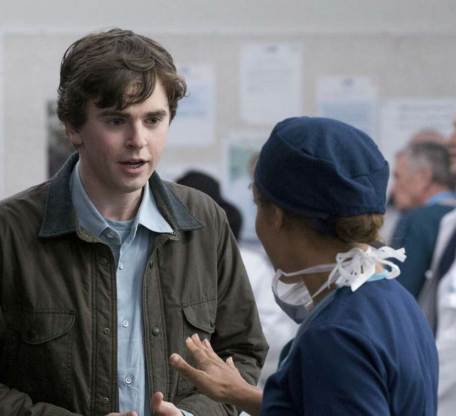 "Dr. Shaun Murphy (Freddie Highmore) is an autistic surgeon in ""The Good Doctor."" Photo: Liane Hentscher / Liane Hentscher / ABC / © 2017 American Broadcasting Companies, Inc. All rights reserved."