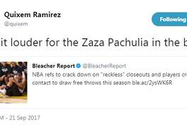"@quixem: ""Say it louder for the Zaza Pachulia in the back"""