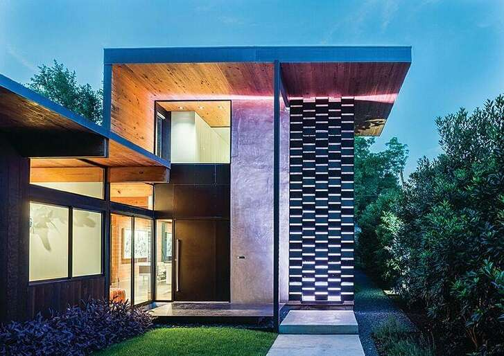 2015 Homes Tour: The architect's own home in Alamo Heights, designed by Tobin W. Smith, AIA, Tobin Smith Architect.