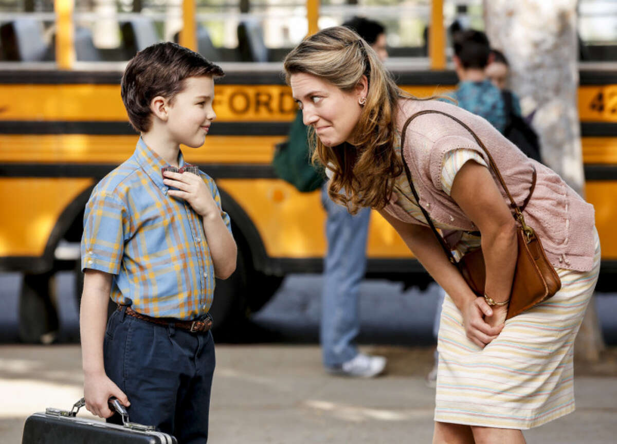 Young Sheldon: Least Likely to be Canceled CBS's newest family sitcom is a prequel to The Big Bang Theory following Sheldon's challenging childhood growing up in an East Texas town that cares more about football than science. CBS clearly has great confidence in this new series, giving it the coveted spot after The Big Bang Theory. However, it is a single-camera comedy with no laugh track, a format that CBS has struggled to make work for them. (CBS)