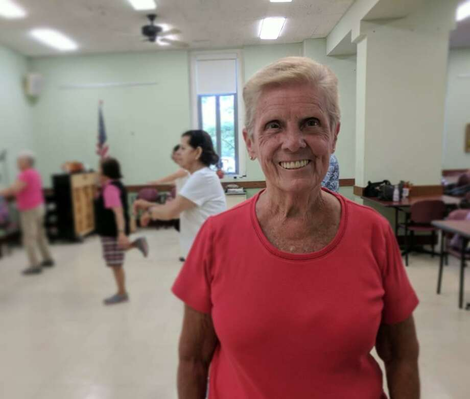 Gloria Guise, 75, enjoys the Senior Center and volunteering in town, but realizes that searching for work after gaining retirement eligibility is pretty tough. Photo: Jennifer Turiano / Hearst Media CT