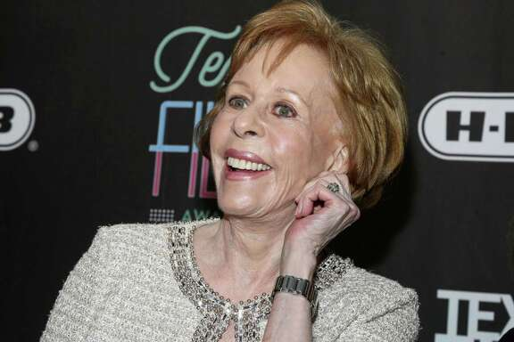 Comedian and actress Carol Burnett, whose West Side childhood home was turned into a learning center for kids, may live in California, but part of her heart still resides in her native San Antonio. Here, she gives that famed ear tug of hers at the 2016 Texas Film Awards at Austin Studios.