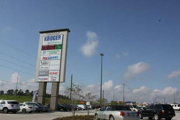 The Kroger Marketplace is a 123,000 square feet grocery store that opened on Friday in Spring.