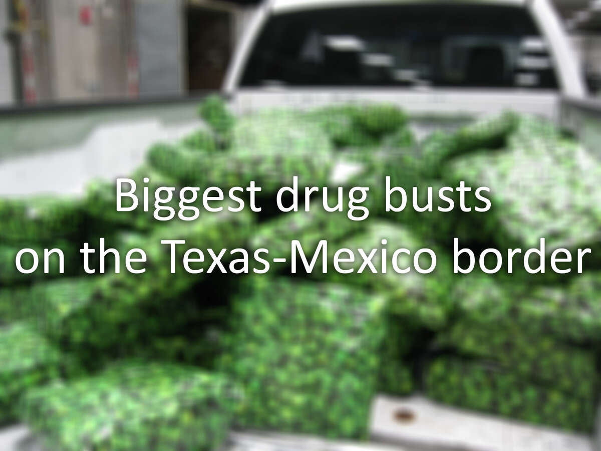 See some of the biggest drug busts on the Texas-Mexico border in the gallery ahead.