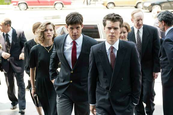 "Miles Gaston Villanueva and Gus Halper portray defendants Lyle and Erik Menendez in ""Law & Order True Crime: The Menendez Murders"" on NBC."