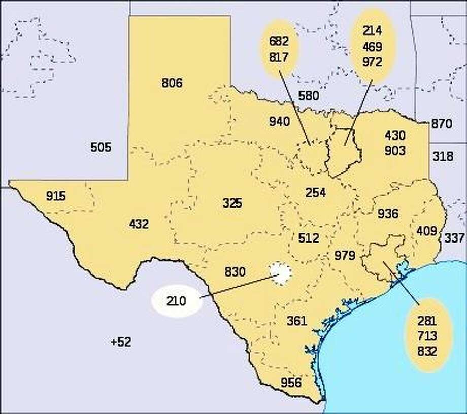 The 210 area code is running out of phone numbers, so a new 726 area code overlay is being implemented. Photo: Courtesy Photo