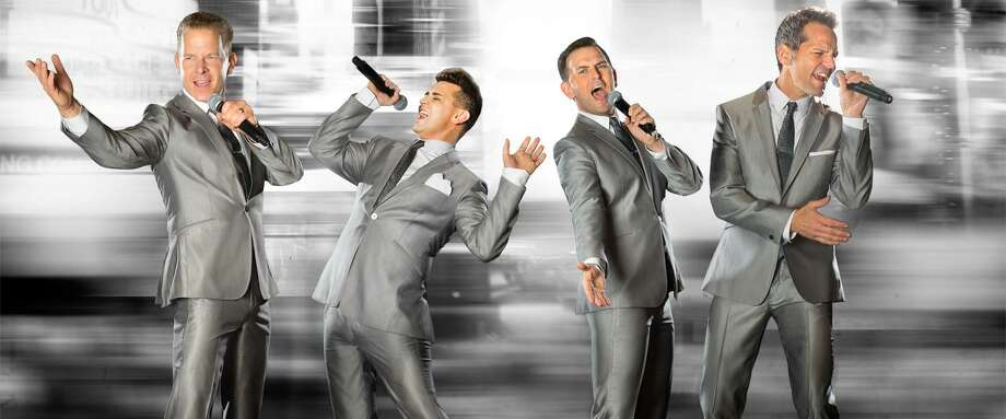 "The original Broadway stars of ""Jersey Boys"" have reunited. Performing as the Midtown Men, they are on their seventh national tour singing songs from the 1960s and will be at the Palace Theatre in Stamford on Saturday, Sept. 30. Photo: Palace Theatre / Contributed Photo"