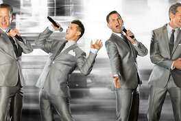 """The original Broadway stars of """"Jersey Boys"""" have reunited. Performing as the Midtown Men, they are on their seventh national tour singing songs from the 1960s and will be at the Palace Theatre in Stamford on Saturday, Sept. 30."""