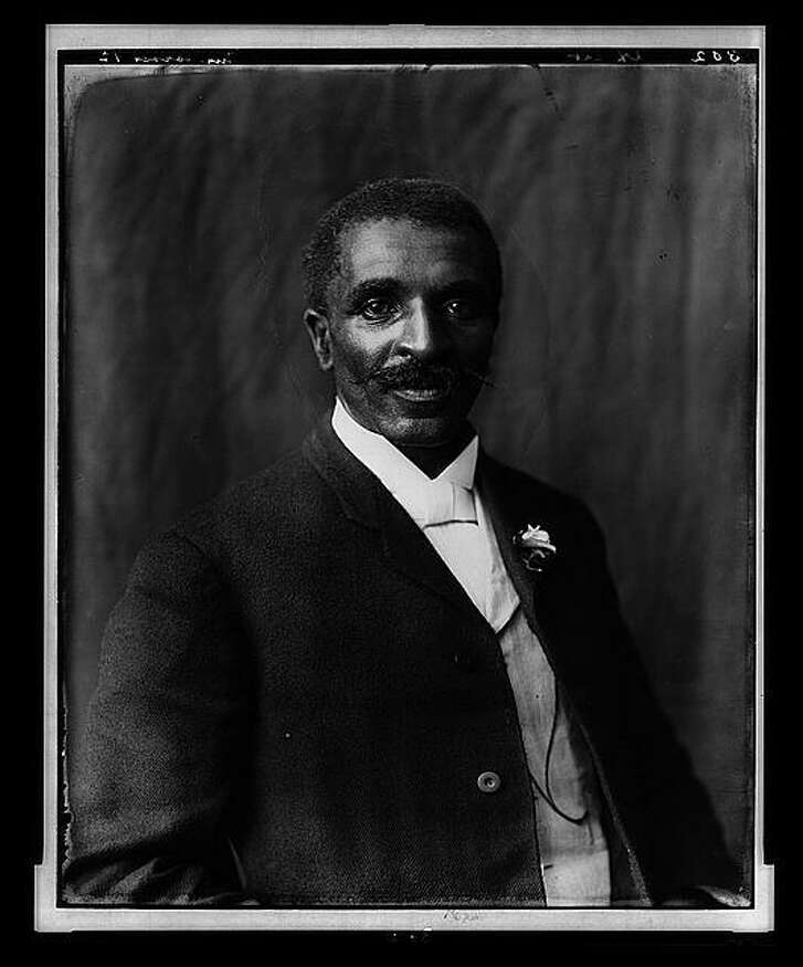 Agricultural pioneer and scientist George Washington Carver, 1906, photo by Frances Benjamin Johnston. Instead of tearing down Confederate statues, we should consider erecting more monuments to black heroes like George Washington Carver, a reader says.