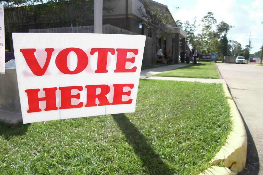 """Voting is not just a precious right, but in Lyndon Johnson's words, """"the first duty of democracy."""" Photo: JASON FOCHTMAN /The Advocate / The Advocate"""