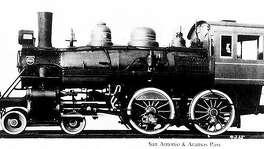 SA & AP locomotive #72, built in 1924.