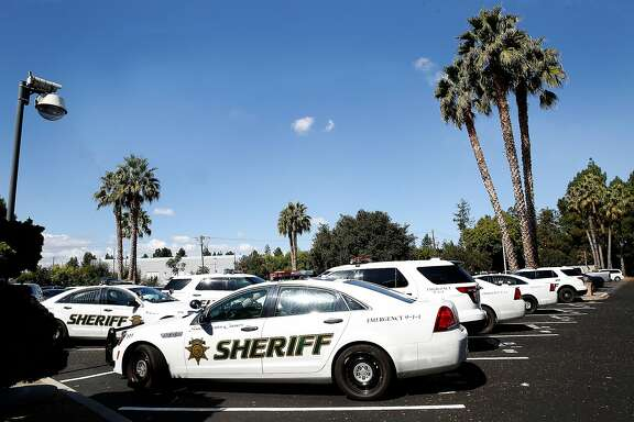 The Santa Clara County Sheriff took a proactive approach in October 2016 and purchased 750 portable gun vaults for her deputies' personal vehicles and staff cars on Friday, September 22, 2017, in San Jose, Calif.  Since then, no guns have been stolen from a Santa Clara County deputy.