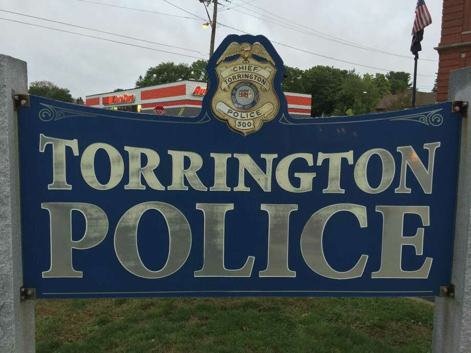 The sign marking the Torrington Police Department. Photo: Ben Lambert / Hearst Connecticut Media / Ben Lambert / Hearst Connecticut Media