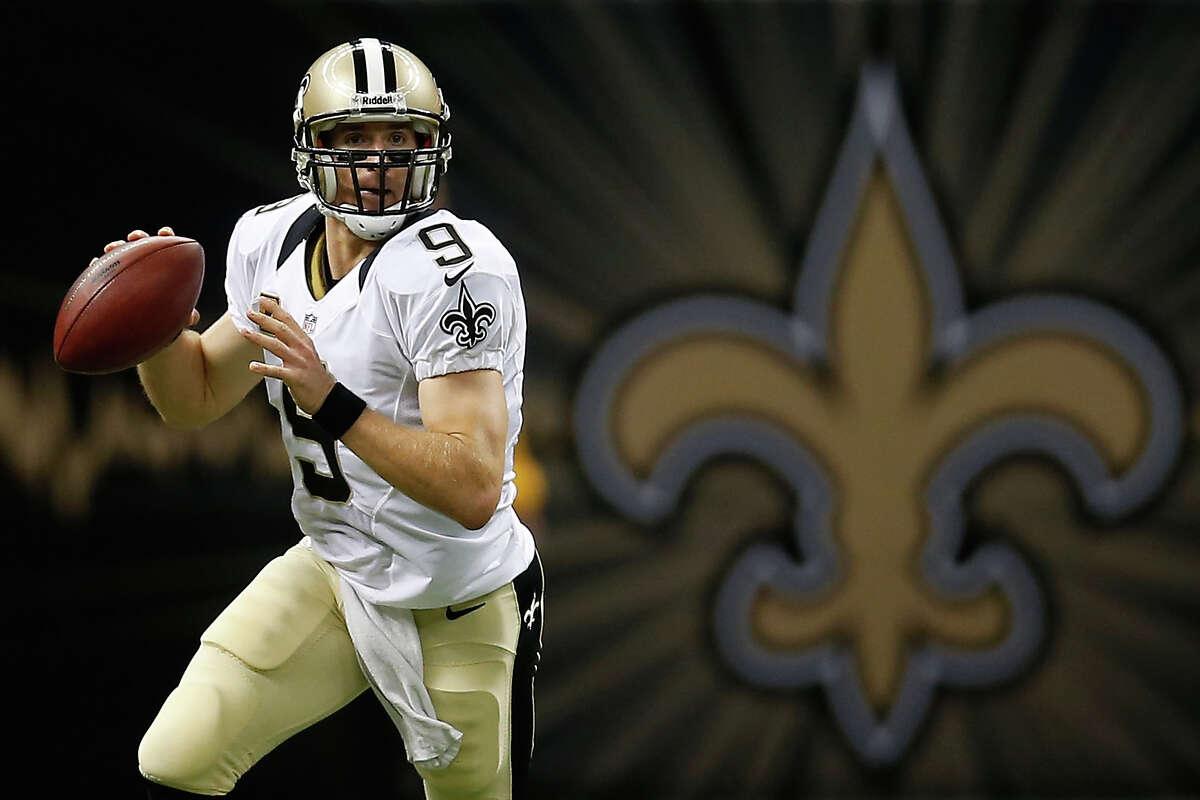 31. Drew Brees - $13,000,000 Team: New Orleans Saints