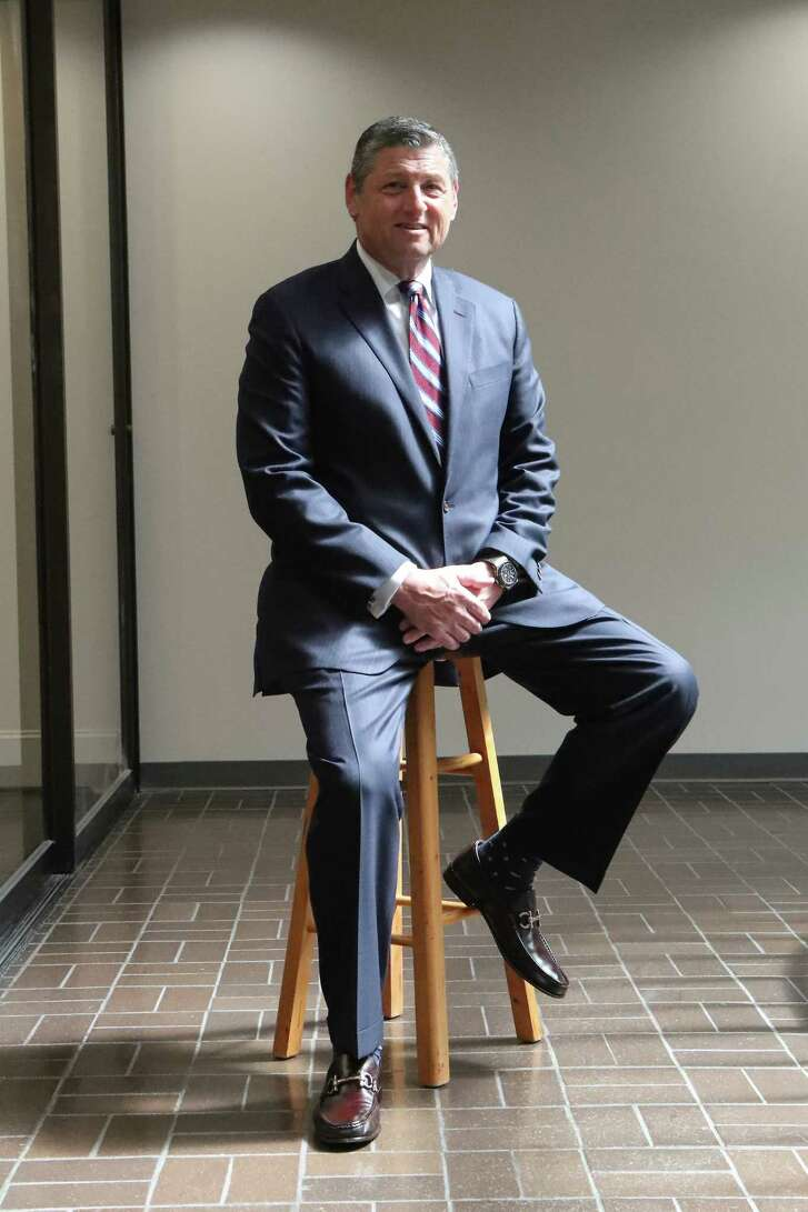 Business Q&A with Jim Frankel, founder of Frankel Building Group Tuesday, Sept. 19, 2017, in Houston. ( Steve Gonzales / Houston Chronicle )