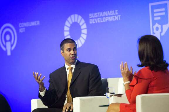 """FCC chairman Ajit Pai seeks to loosen the standard for """"high-speed"""" internet."""