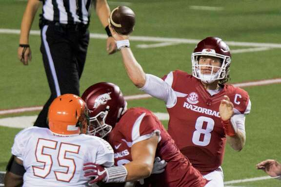 Losers of five straight games against Texas A&M, Arkansas will be leaning heavily on quarterback Austin Allen to open conference play.