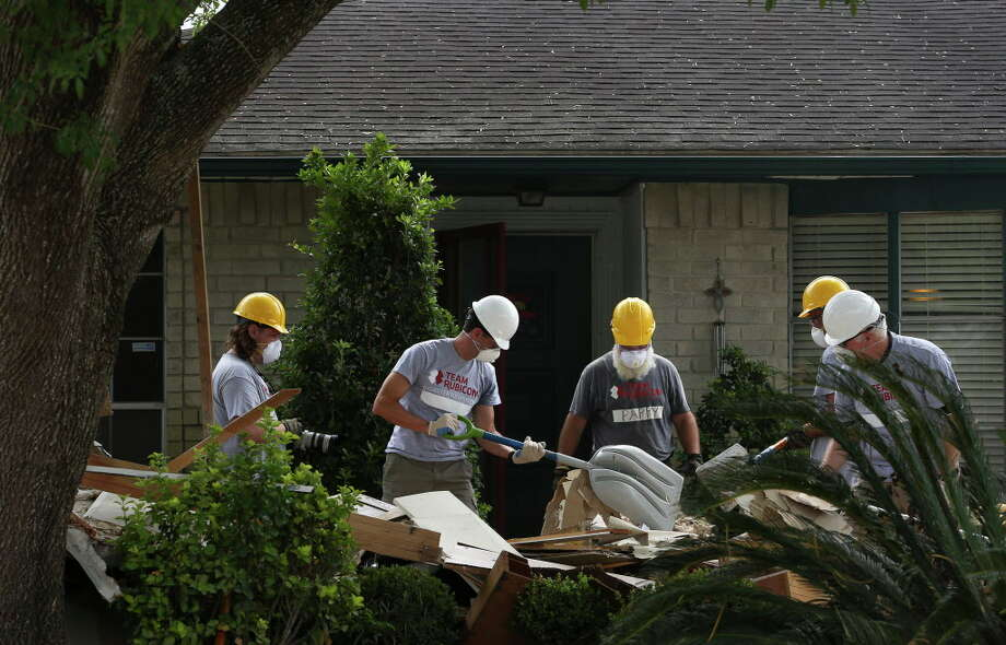 Bank of America announced more than $2.8 million in donations to Gulf Coast nonprofits supporting short- and long-term Hurricane Harvey relief efforts. Photo: Yi-Chin Lee, Houston Chronicle / © 2017  Houston Chronicle