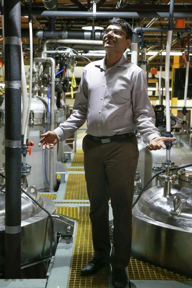 Mahesh Patel, CEO, president and founder of ShayoNano, a nanotechnology company with its U.S. headquarters in Stafford, hopes to succeed in an industry where others have failed.  Photo: Yi-Chin Lee, Staff / © 2017  Houston Chronicle