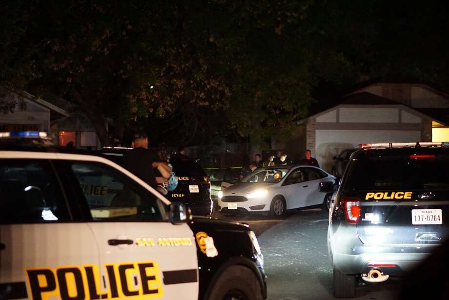Two people were found shot to death in a Northwest Side home in the 5700 block of Stone Village Sept. 22, 2017. Photo: Jacob Beltran