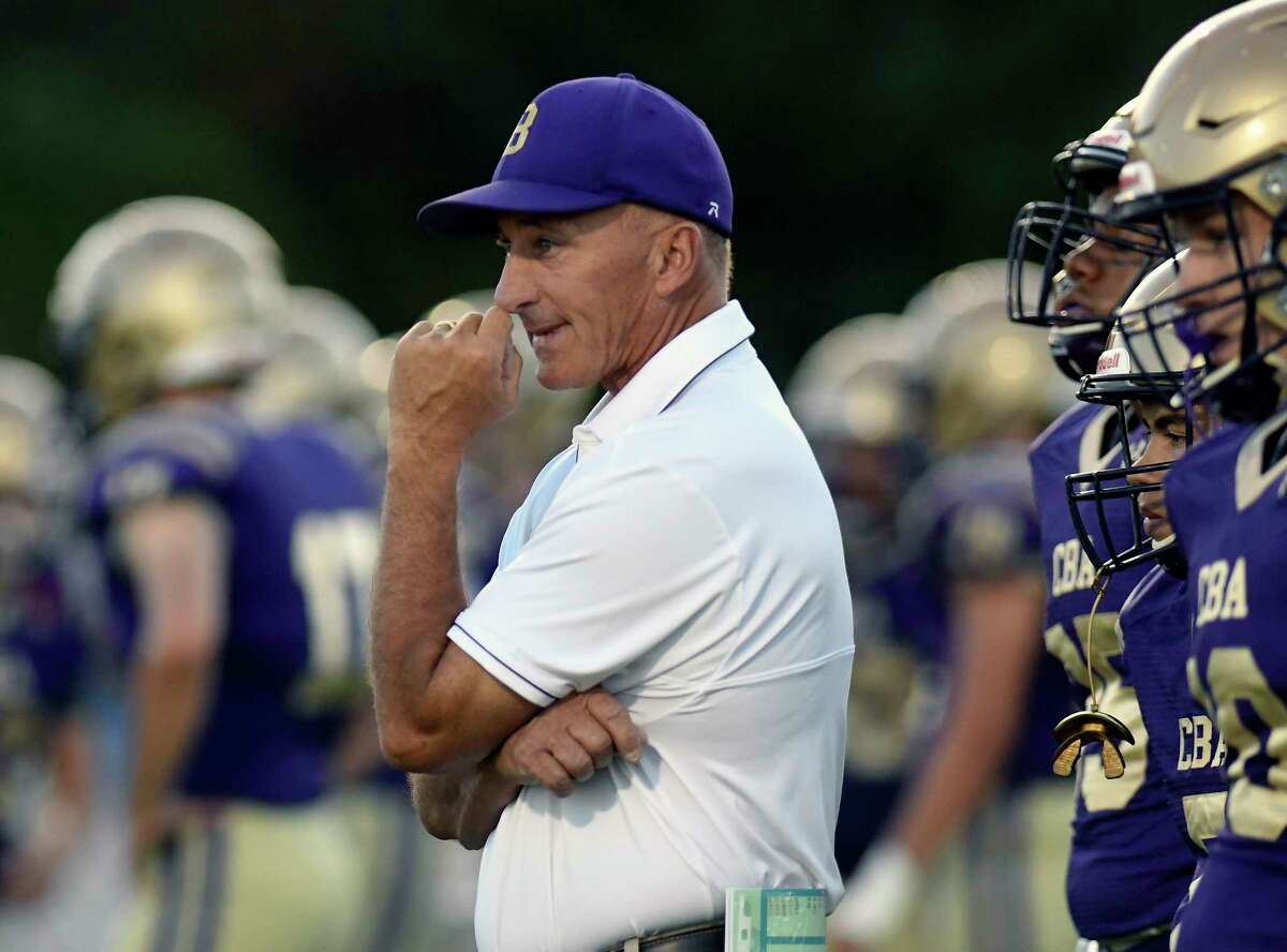 CBA coach Joe Burke won a Class AA title with the Brothers in 2013. (Hans Pennink / Special to the Times Union)