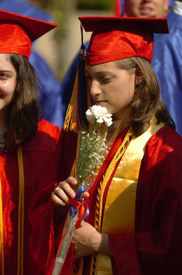 Highlights from Foran High School's Graduation Exercises in Milford, Conn. on Wednesday June 23, 2010. Graduate Yasmine Abulhab. Photo: Christian Abraham / Connecticut Post