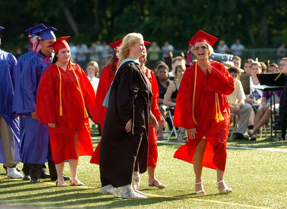 Highlights from Foran High School's Graduation Exercises in Milford, Conn. on Wednesday June 23, 2010. Photo: Christian Abraham / Connecticut Post