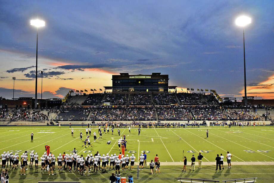 Midland High's against Keller on Sept. 22, 2017, at Grande Communications Stadium.  James Durbin/Reporter-Telegram Photo: James Durbin