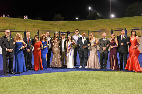 Homecoming court photographed during Midland High's homecoming game against Keller on Sept. 22, 2017, at Grande Communications Stadium.  James Durbin/Reporter-Telegram