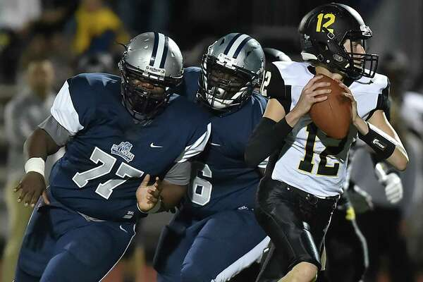 Hillhouse defeats Amity Regional, 22-17, Friday, Sept. 22, 2017, at the Bowen Field on Crescent Street in New Haven.
