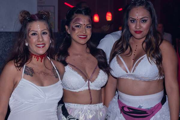 "The Korova played host to a clutch of vampire wannabes at a creepy Blood Rave Friday night, Sept. 22, 2017. The goth-y blood lusting revelers gathered for ""the bloodiest party of the season of horror,"" according to presenter Rockula Horror Expo."