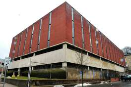 The former Farrel corporate headquarters on Ansonia's Main Street could be purchased through eminent domain as the new police station and senior citizen center