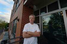 """A resident at The Sheffield SoNo, Bill Kennedy, has lived there for two years and now has had his rent raised 17 percent at the building at 77 North Water St. in Norwalk. A large number of rent complaints are being made for buildings with new management and Fair Rent Commissioner Brenda Penn-Williams decries the rising rents as a """"bait and switch,"""" luring people into new or newly renovated apartments, then raising their rents."""