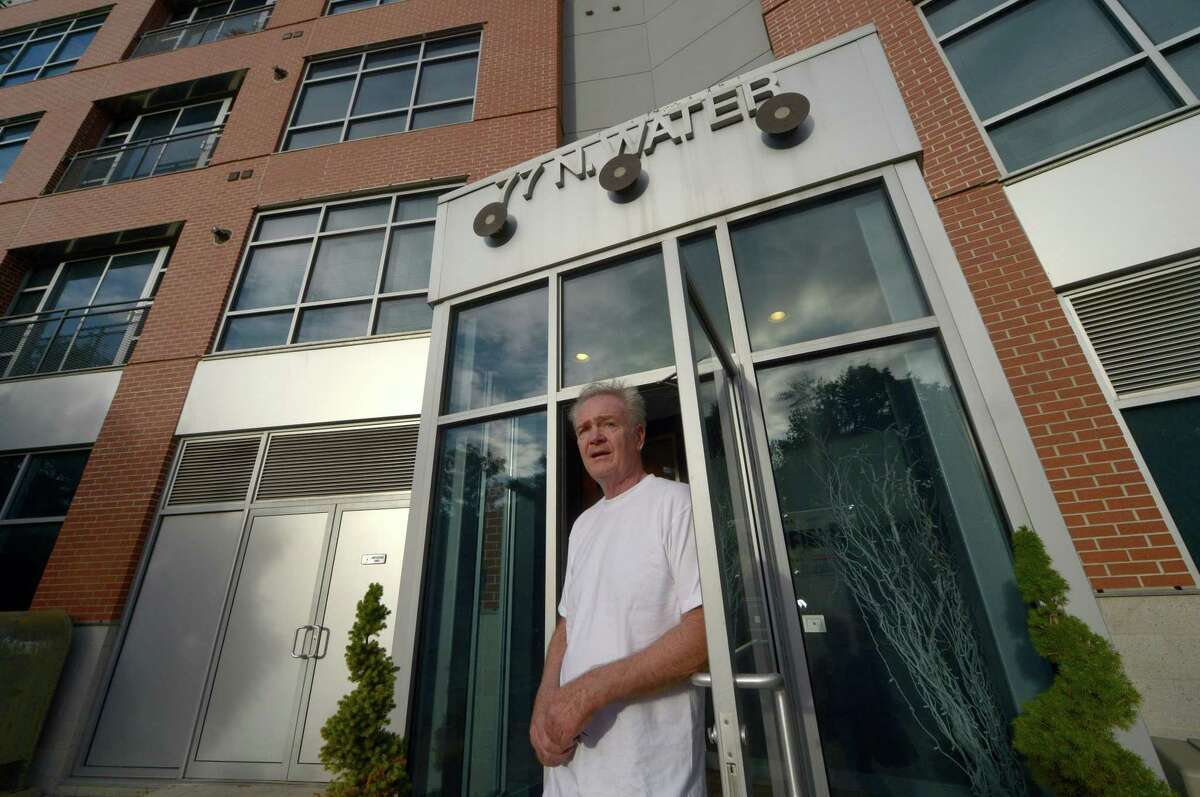 A resident at The Sheffield SoNo, Bill Kennedy, has lived there for two years and now has had his rent raised 17 percent at the building at 77 North Water St. in Norwalk. A large number of rent complaints are being made for buildings with new management and Fair Rent Commissioner Brenda Penn-Williams decries the rising rents as a