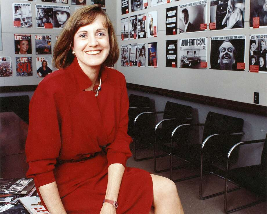 Katherine Bonniwell, who was Life magazine's publisher from 1988 to 1991, was seen as a role model for female managers. Photo: MAGGIE O'BRYAN, NYT