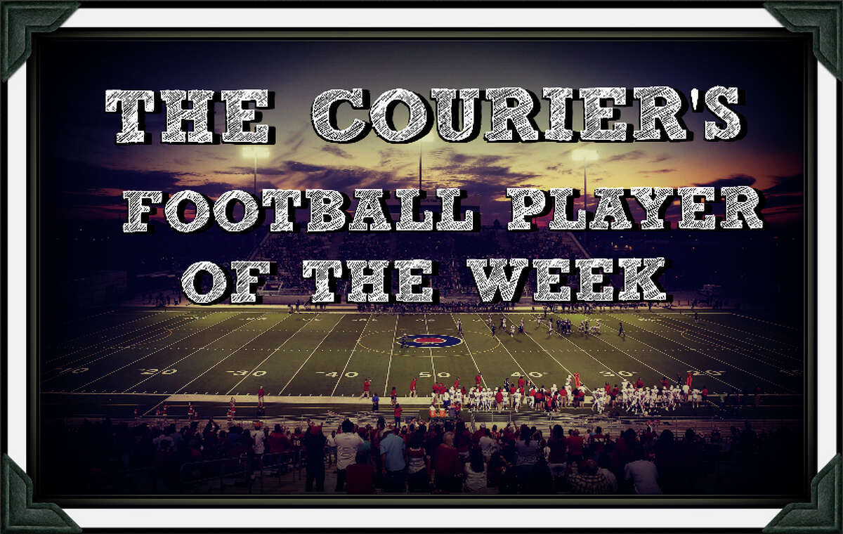 Help The Courier select the Montgomery County Football Player of the Week.